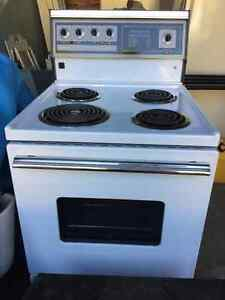 "24"" Admiral electric range"