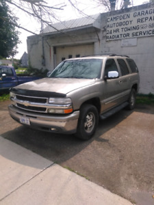 01 Chev Tahoe 2wd