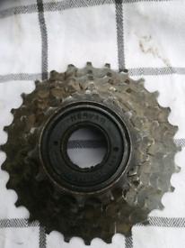 6 Speed Freewheel Gear Cassette