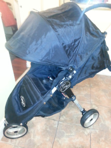 Baby Jogger City Mini Stroller + rain cover