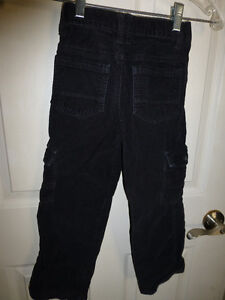 Black Gymboree pants cords youth boy size 6 slim Kitchener / Waterloo Kitchener Area image 2