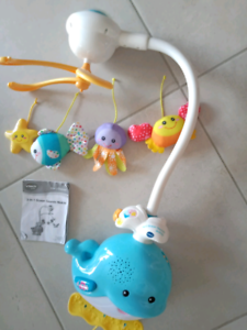 Baby musical mobile cot toy