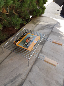 Grills for Charcoal or Wood Fired BBQ or Pizza Oven