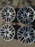 """4 x 17""""- VW RIMS JETTA, GOLF, Mark IV - for sale or trade"""