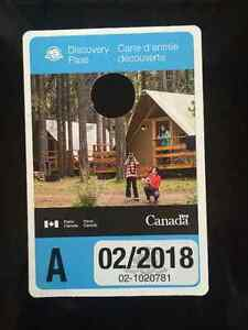 Moving out of province: Park Canada pass valid until Feb. 2018