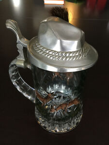 Oktoberfest Vintage BMF Beer Stein made in W. Germany w. Hat Lid Cambridge Kitchener Area image 1