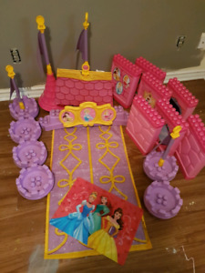 Disney princess castle parts for sale