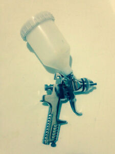 Spray gun used four times have manual and box