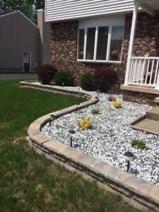 Construction desjardin et backyard