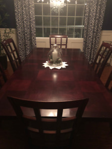 Dining Room set with East Asian Flare