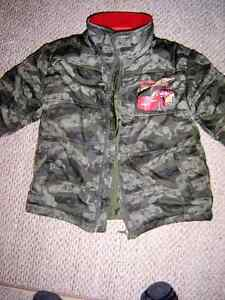 boys size 4 cars coat