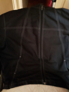 Guess Jeans Black Mens zipper Jacket ( spring style)
