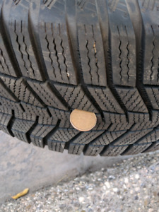 Winter tires - great condition - Continental