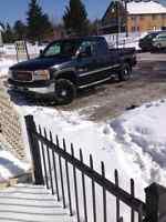 2002 GMC Sierra 2500 diesel Camionnette