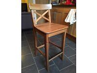 1 x IKEA INGOLF Bar stool