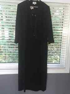 ladies plus size 20 suit  jacket and full length dress Peterborough Peterborough Area image 3