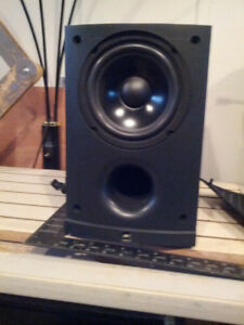 """6"""" JVC powered home subwoofer"""