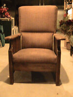 Fauteuil inclinable ancien , Antique recliner