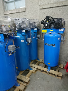 Compresseur Omega 60 gallons (240v) - NEUF - Taxes comprises