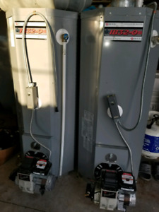 Oil fired water heaters