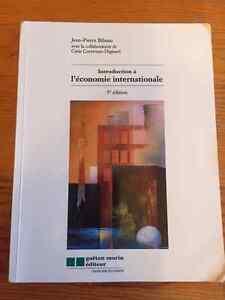 Introduction à l'économie internationale Gatineau Ottawa / Gatineau Area image 1