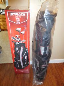 Brand New Strata 12 piece golf club set. Still in box. SOLD PPU