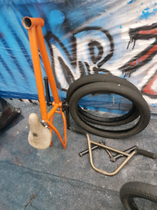 Bmx parts 80$ for everything obo