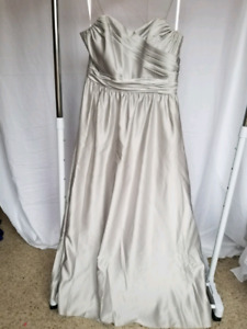 Size 22 Silver Alfred Angelo Dress