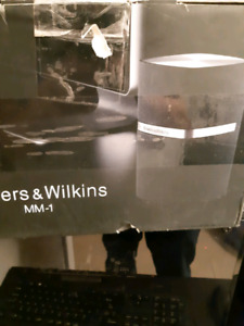 Bowers and Wilkins MM-1 Computer Speakers