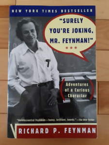 Comedy book : SURELY YOU'RE JOKING MR. FREYMAN by R. P. Freyman