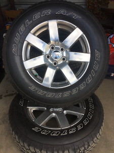 Jeep Wrangler 5 Rims and Tires