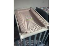 Changing table and mat