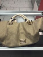 Sac à main Michael Kors beige/or à vendre!
