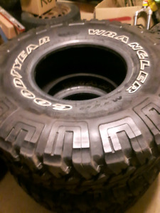 35 INCH PUNCTURE RESISTANCE Goodyear