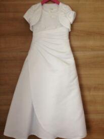 Communion Dress & Tiara