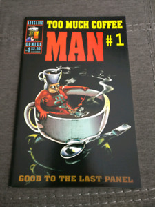 Too Much Coffee Man (1st Print)