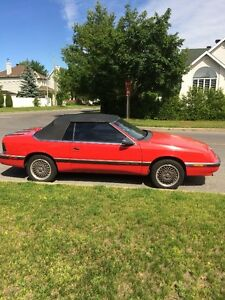 Chrysler LeBaron Convertible GTS 1989