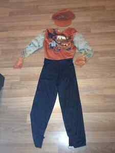 Mater costume size 4-6