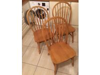 Reduced: farmhouse chairs