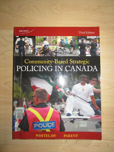 Community Based Strategic Policing in Canada (LIKE NEW) Kitchener / Waterloo Kitchener Area image 1