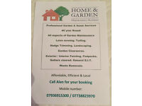 Home and Garden maintenance services