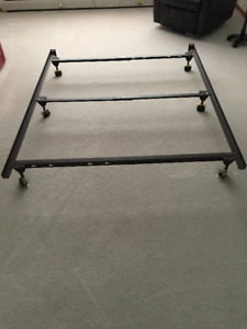 Steel Bed Frame - Fits Up to Queen