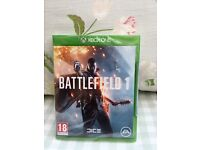 BRAND NEW AND SEALED BATTLEFIELD 1 ON XBOX ONE.
