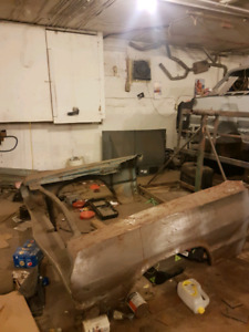 64 impala hardtop shell and parts