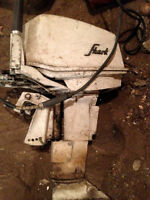 Old shark  by westbend 12hp outboard