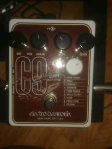 Electroharmonix C9 organ machine
