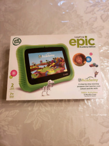 LeapFrog Epic Academy edition - brand new