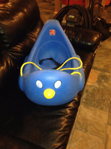 Step 2 Blue Penguin Winter Sled with seat belt
