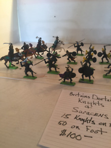 Britains Deetail Knights, vintage, collectible, soldier, army