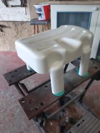 Mobility bath stool
